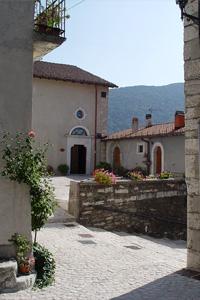 Comune di Opi - L'Aquila - Chiesa madre Santa Maria Assunta