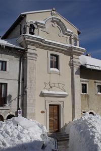 Comune di Opi - L'Aquila - Cappella gentilizia di S. Giovanni Battista
