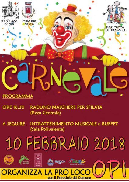 Festa di Carnevale dedicata alla Famiglia